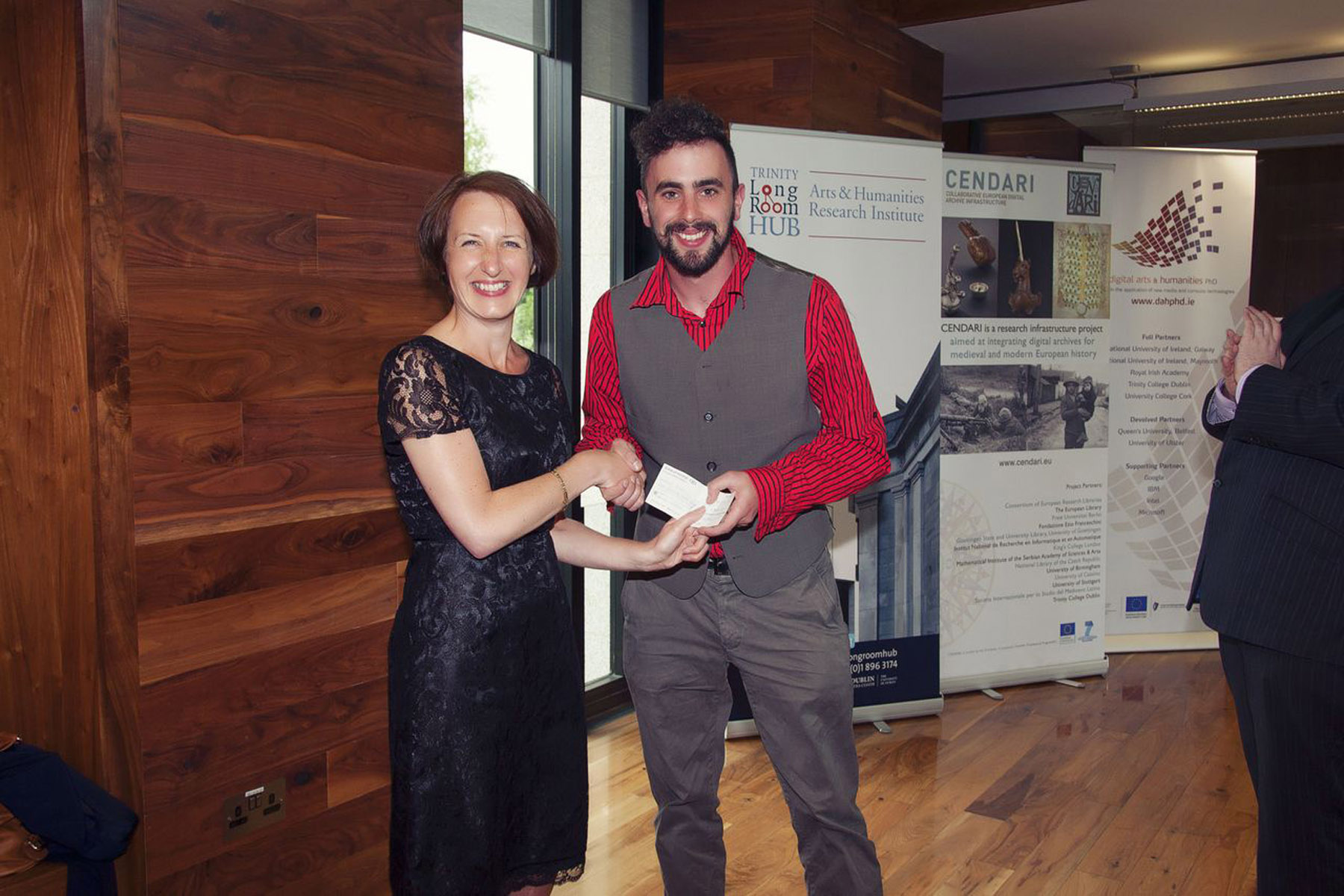 being awarded the JPR prize
